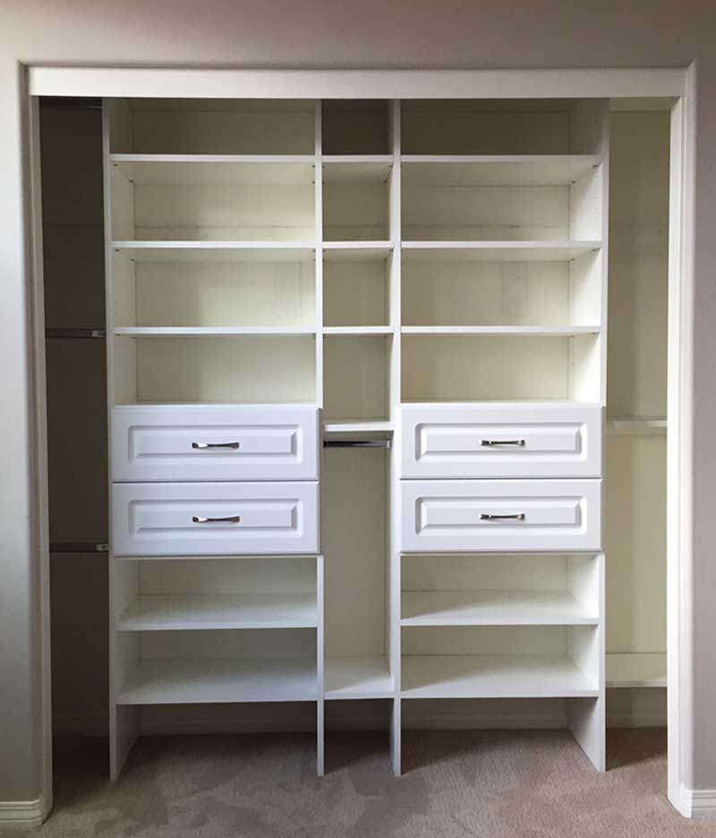 Adjustable Closet & Cabinets